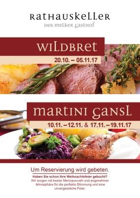 Wild & Gans 17.10 bis 1.11. 2015